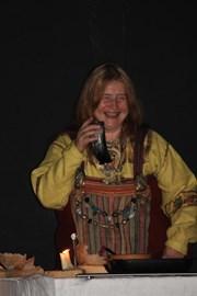 Frania at the 2008 Vikings Banquet