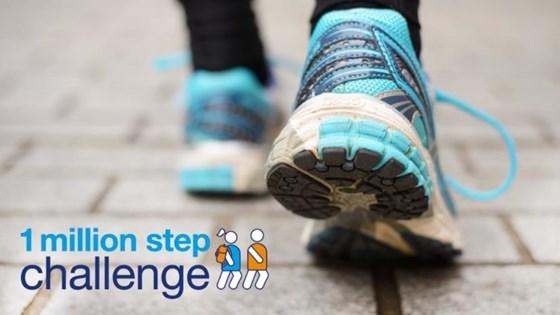 1 million step challenge 2018