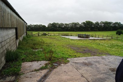 Rehab barn and area that needs concrete
