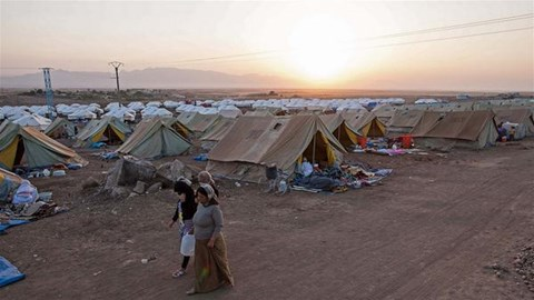 Refugees from Shengal in Newroz Camp in Syria