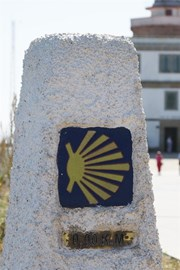 A route marker