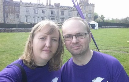 Joint selfie at Penshurst Place