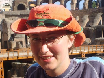 Jane in Rome 2007