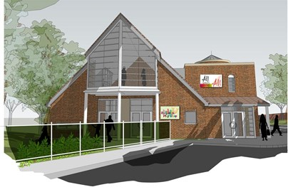 Artists impression of All Saints Centre