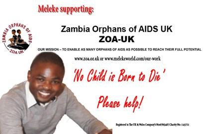 Meleke Partnering with ZOA-UK