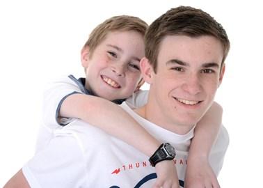 My boys - Daniel and Joseph