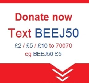 Donate by text!