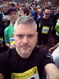 Pre 13.1 miles @ the Bedford 1/2 marathon