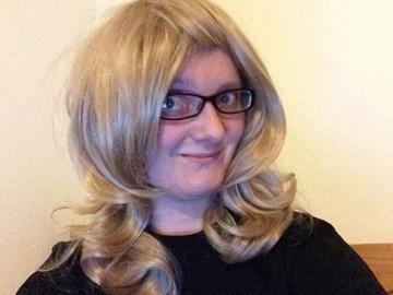 Me wearing Wig 2