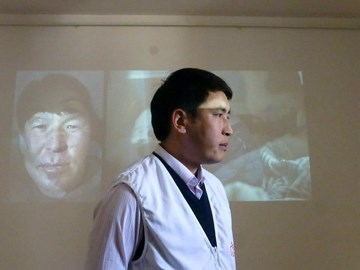 MSF doctor at world TB event 2013