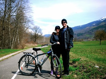 three weeks beforewe leave! a quick cycle around bourg st maurice in france
