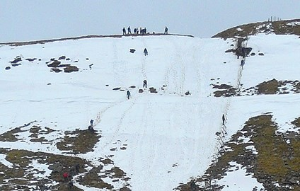 13/4/2013 Climbing Ingleborough wasn't e