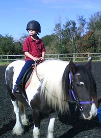 Ollie riding at RDA