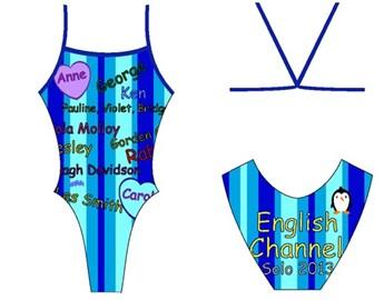 My costume for the big swim...