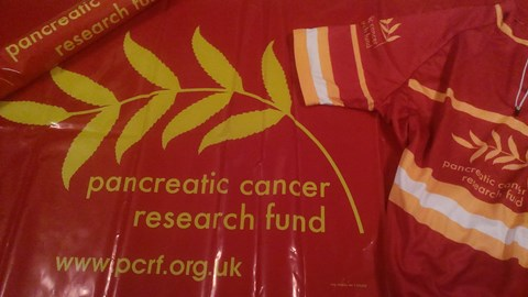 PCRF banner & cycling shirt