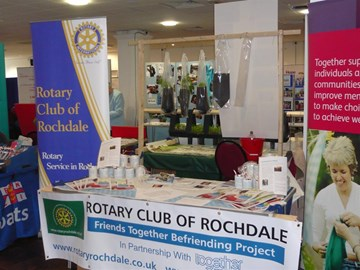 Stand at District Conference 2009