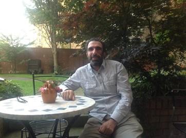 Yusuf in the Garden pre op (August)