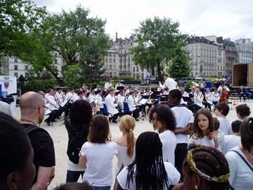 Band at Notre Dame