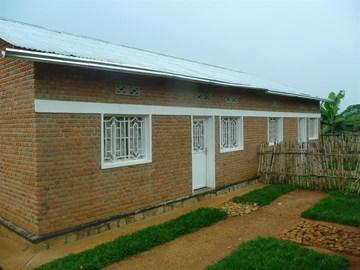 Duplex House Being Built