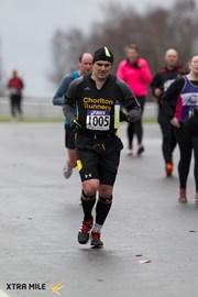 Marathon training in 2015 at the Oulton Park Half Marathon
