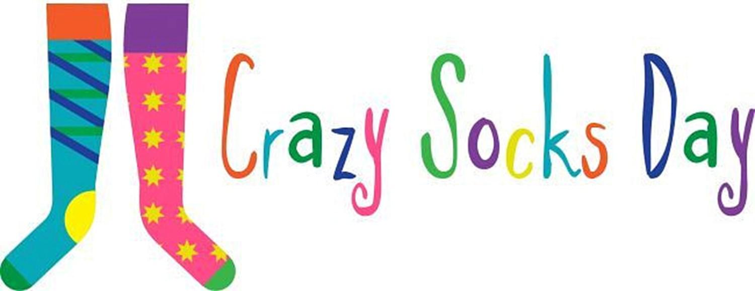 Image result for clipart crazy sock day