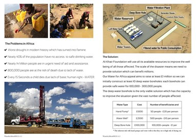 Water Project Africa Leaflet Part 2