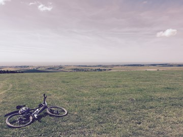 The beautiful South Downs - 35 miles in 2015