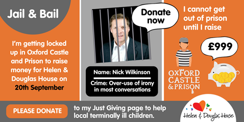 Nick's Fundraising Challenge