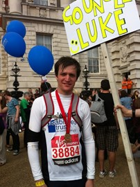 At the end of The Virgin London Marathon