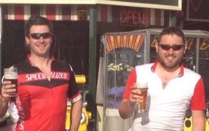 Last big ride - Barmouth to Gt. Yarmouth, 2014