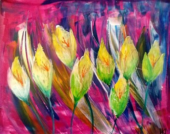 'Tulips' by Hannah Lindfield