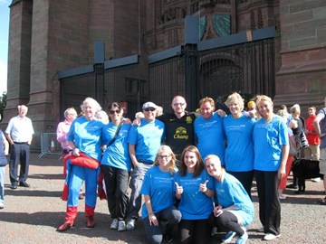 The Magnificent 2013 Charity Abseilers