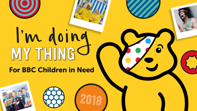enterprise rent a car u4f is fundraising for bbc children in need