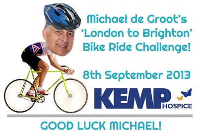 The lovely team at KEMP, created this image of me!