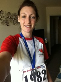 did the 10k beaverbrook just over anhour