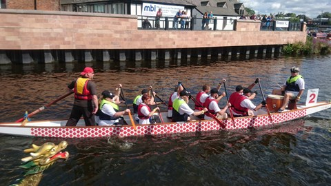 Parrs Bank Paddlers in 2017