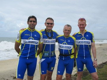Michelin team in Madagsacar 2011