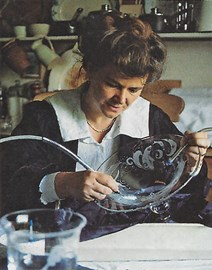 Angela Engraving Glass