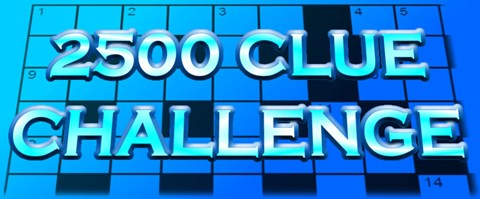 The 2500 Clue Challenge!