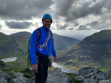 At the top of Tryfan.