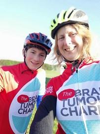 Henry & Liz cycling Holland