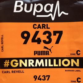 Carl's Race Number