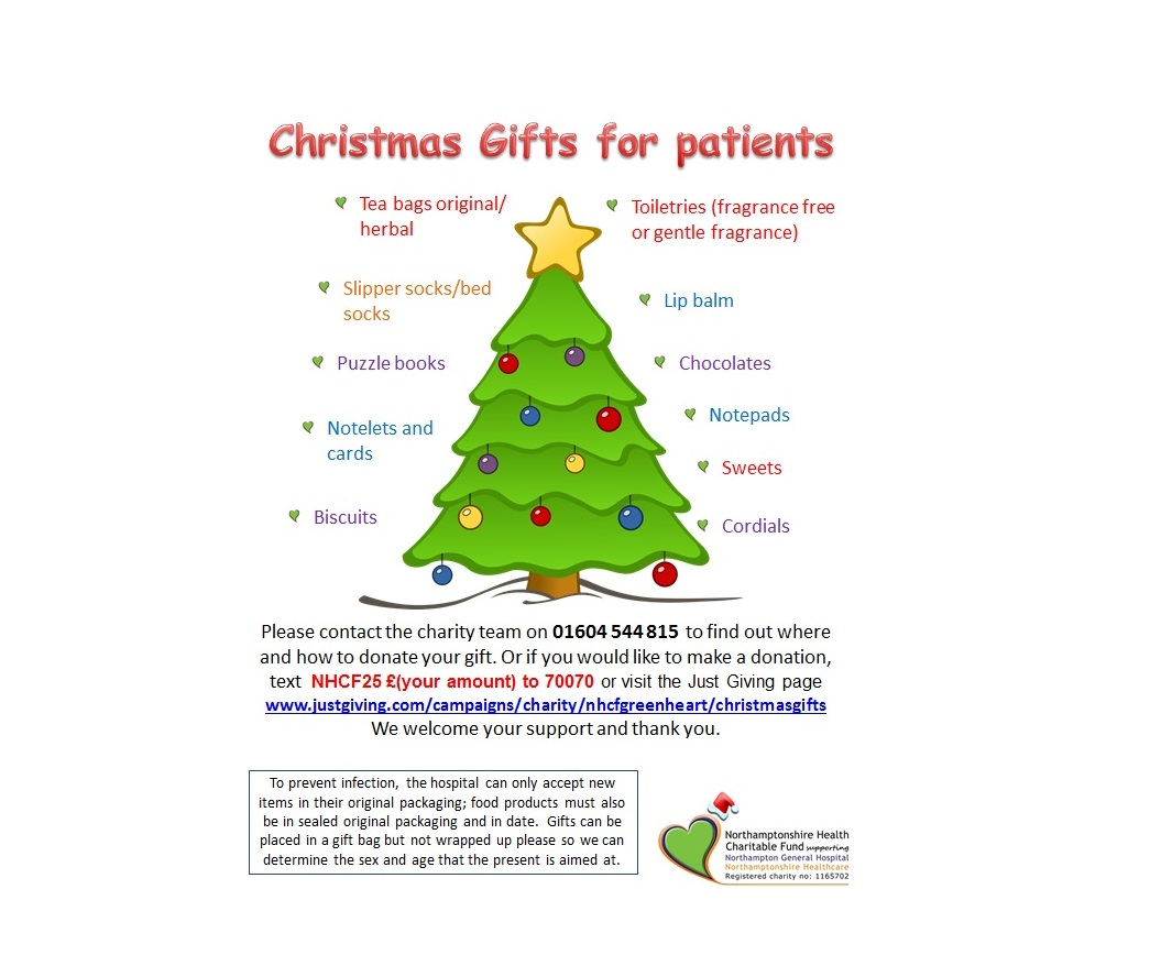 christmas presents appeal justgiving