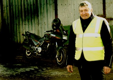 Jon and bike