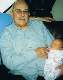 Tony with George (3 days old)