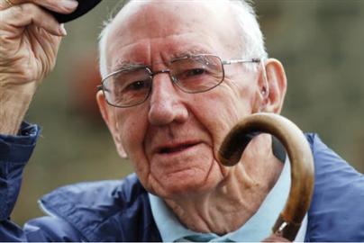 Jack Aged 87 Ready to Walk