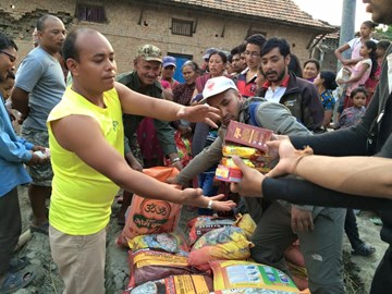 Distributing essentials