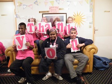 "HCPT Group 26 say ""thank you!"""