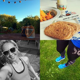Keeping my nutrition as clean as possible and my training environment happy and homely