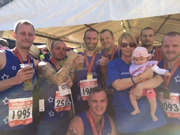 my mummys star 10k runners, well done lads